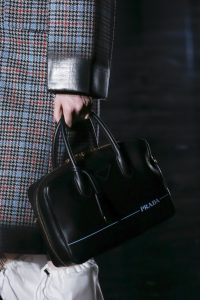 Prada Black Top Handle Bag - Fall 2018