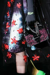 Prada Black/Pink Cahier Bag - Fall 2018