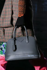 Prada Gray Top Handle Bag - Fall 2018
