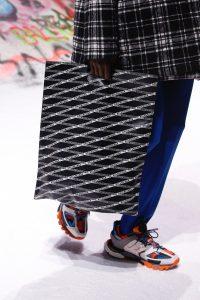 Balenciaga Black Logo Print Tote Bag 3 - Fall 2018
