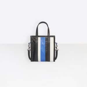 Balenciaga Black/Blue Bazar Shopper XXS Bag