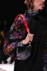 Balenciaga Black/Red Shoulder Bag - Fall 2018