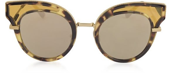 Bottega Veneta Acetate Cat Eye Women's Sunglasses