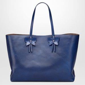 Bottega Veneta Cobalt Calf Small Tote Bag