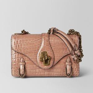 Bottega Veneta Dahlia Crocodile City Knot Bag