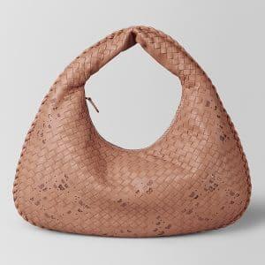 Bottega Veneta Dahlia Intrecciato Nappa Ayers Medium Veneta Bag
