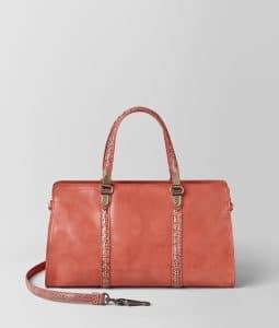 Bottega Veneta Hibiscus BV73 Top Handle Bag