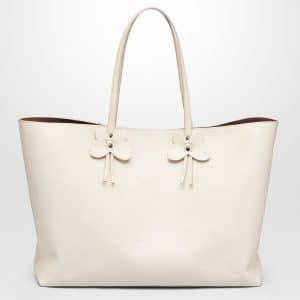 Bottega Veneta Mist Calf Small Tote Bag
