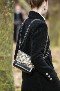 Chanel Black/Gold Gabrielle Small Hobo Bag - Fall 2018