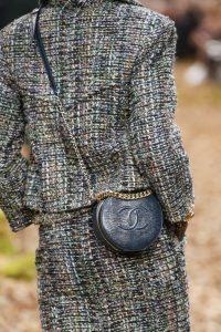 Chanel Blue Lizard Crossbody Bag - Fall 2018
