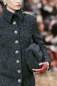 Chanel Blue Tweed Flap Bag - Fall 2018