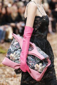 Chanel Pink/Blue Leaf Print 31 Tote Bag 3 - Fall 2018