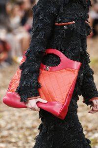 Chanel Red/Orange 31 Tote Bag - Fall 2018