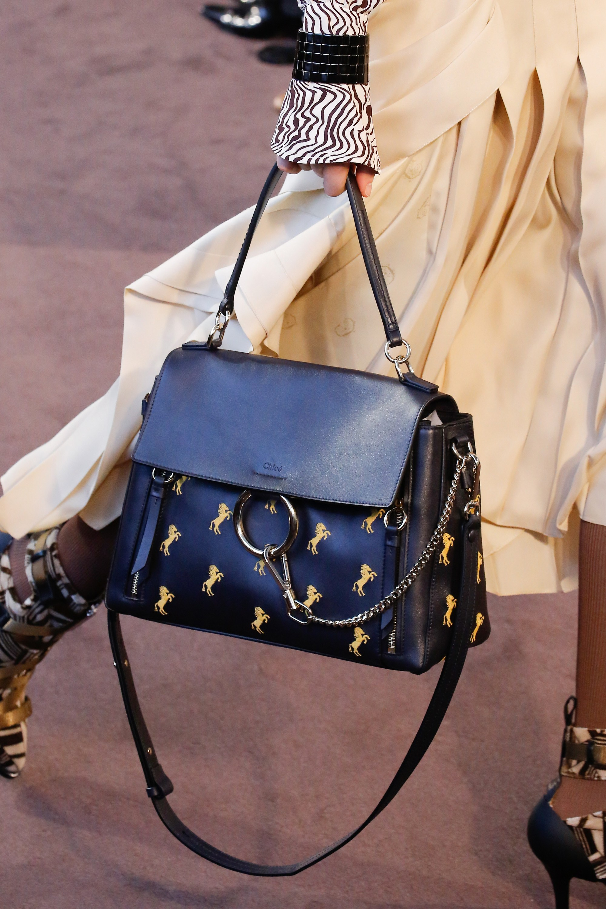 Chloe Fall Winter 2018 Runway Bag Collection Spotted Fashion