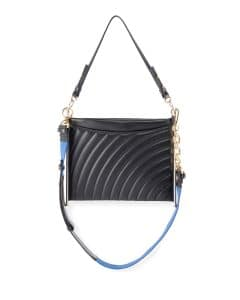 Chloe Black Quilted Roy Clutch Bag