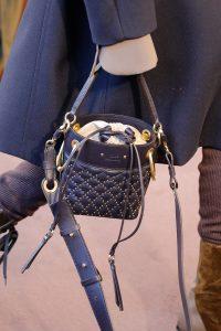 Chloe Black Studded Bucket Bag - Fall 2018