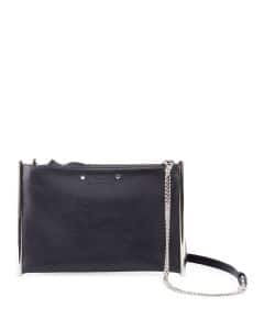 Chloe Blue Roy Chain Shoulder Bag