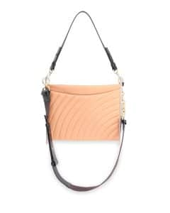 Chloe Blush Quilted Roy Clutch Bag