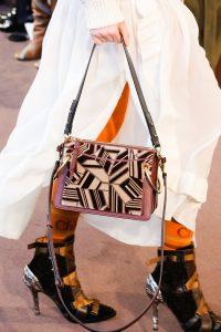 Chloe Burgundy Abstract Roy Bag - Fall 2018