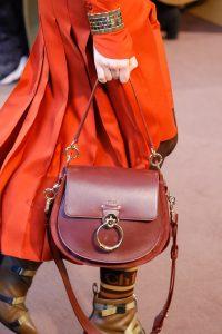 Chloe Burgundy Saddle Bag - Fall 2018