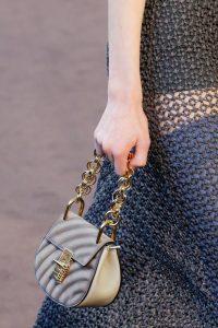 Chloe Gray Quilted Drew Bijou Bag - Fall 2018