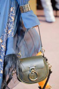 Chloe Green Saddle Bag - Fall 2018