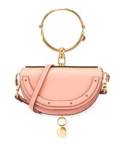 Chloe Light Pink Nile Minaudiere Bag
