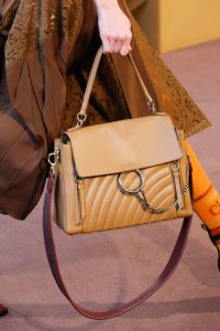 Chloe Tan Quilted Faye Day Bag - Fall 2018
