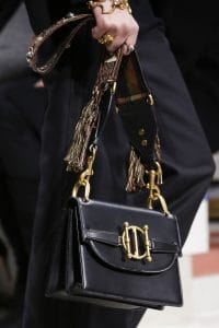 Dior Black Flap Bag - Fall 2018