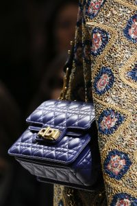 Dior Blue Cannage Flap Bag 2 - Fall 2018