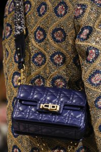 Dior Blue Cannage Flap Bag - Fall 2018