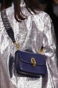 Dior Blue C'est Dior Flap Bag 2 - Fall 2018