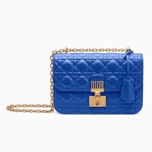 Dior Blue Dioraddict Flap Bag