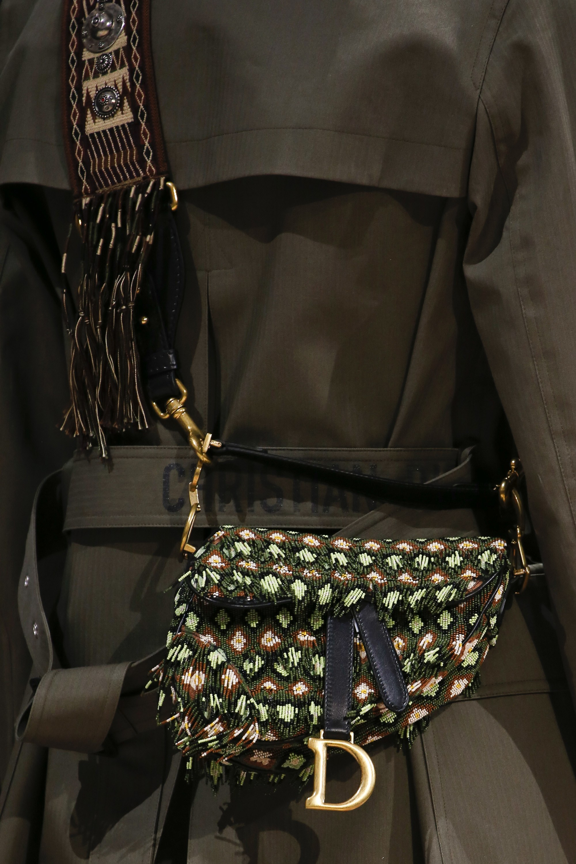 bfc7afda4b Dior Fall/Winter 2018 Runway Bag Collection featuring Saddle Bags ...