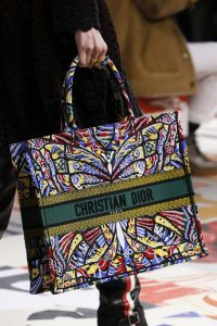 Dior Multicolor Butterfly Print Book Tote Bag - Fall 2018