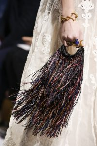Dior Multicolor Fringe Mini Bag- Fall 2018