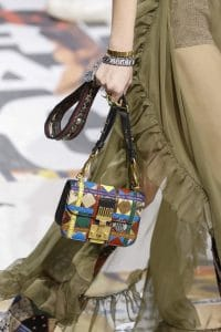 Dior Multicolor Patchwork Dioraddict Flap Bag 2 - Fall 2018