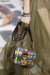 Dior Multicolor Patchwork Dioraddict Flap Bag - Fall 2018