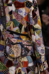Dior Multicolor Patchwork Saddle Bag 3 - Fall 2018