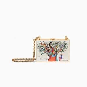 Dior Off-White Vive l'Amour Print Minaudiere Bag