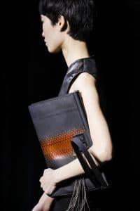 Givenchy Gray Python Clutch Bag 2 - Fall 2018