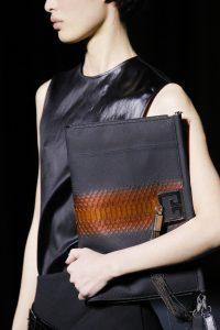 Givenchy Gray Python Clutch Bag - Fall 2018