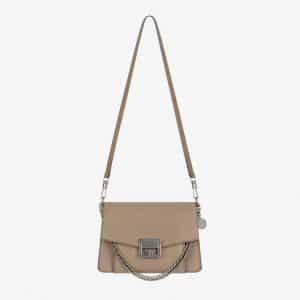 Givenchy Linen Leather GV3 Small Flap Bag