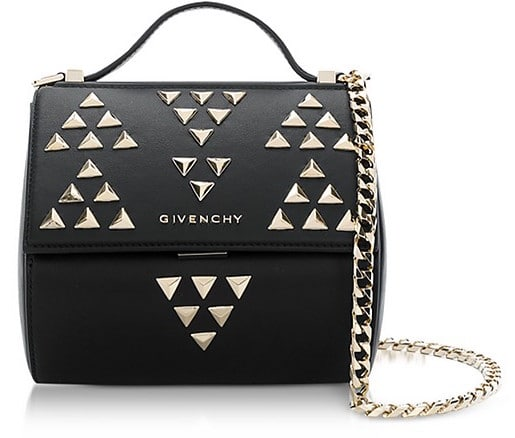 Givenchy Pandora Chain Mini Shoulder Bag w:Studs