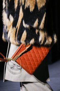 Givenchy Red Quilted Clutch Bag - Fall 2018