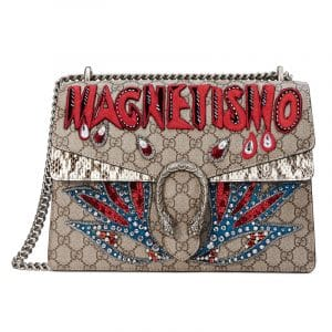 Gucci GG Supreme Magnetismo Dionysus Medium Shoulder Bag