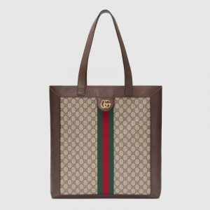 Gucci GG Supreme Ophidia Large Tote Bag