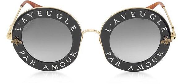 Gucci L'Aveugle Par Amour Sunglasses