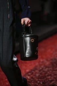 Hermes Black Bucket Bag - Fall 2018