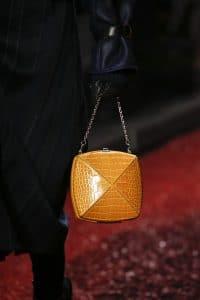 Hermes Gold Crocodile Clou Medor Mini Bag - Fall 2018